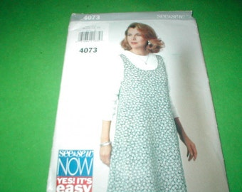Butterick 4073 See And Sew Miss Jumper and Top Pattern