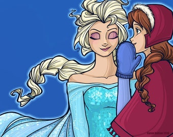 The Untold Story of the Daughters of Arendelle Small Print (Item 03-313-AA)