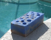 Blueberry & Vanilla  2 Pound  Loaf Cold Process Soap others loaves in my store