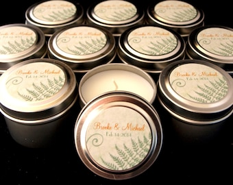 Wedding or Event Favor Gift Travel Candle Sample