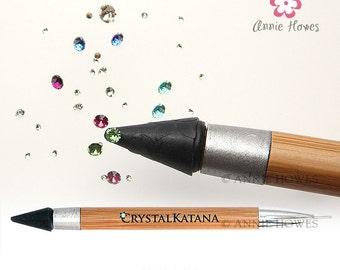 Crystal Katana Rhinestone Pick Up Tool. End your crystal frustrations. Crystal Ninja.