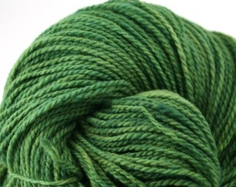 Mohonk Hand Dyed sport weight NYS Wool 370 yds 4oz Chlorella