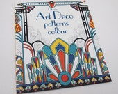 Art Deco Patterns to Colour Book