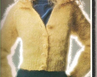 Long Sleeve Knit Cardigan Pattern (BtWg)