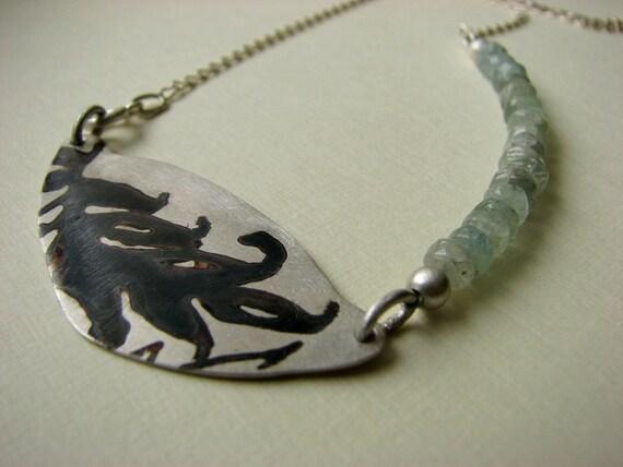 Karl Blossfeldt inspired Necklace reserved for Lisa