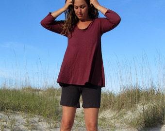 Organic Ritual Wanderer Shirt (Light hemp/organic cotton Knit) - organic shirt