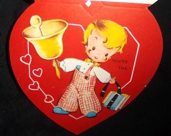 Vintage Belle of the Schoolroom Valentine