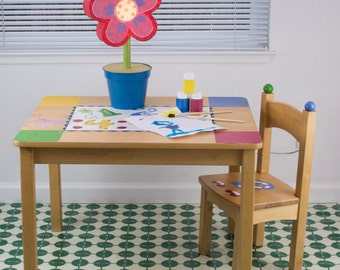 "Splat Mat/Tablecloth ""Kelly Green"" - Laminated Cotton BPA  & PVC Free - Choose Your Size below!"