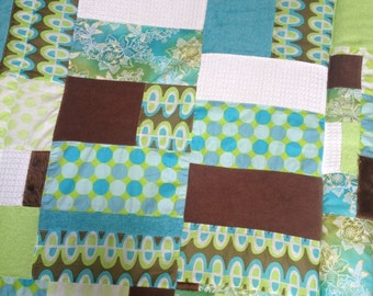 Cot/Crib Patchwork Quilt