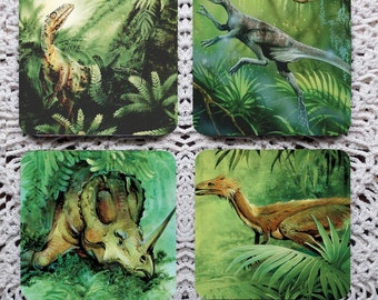 Land of the Lost -- Dinosaur Mousepad Coaster Set