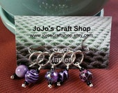 Purple Stitchmarkers