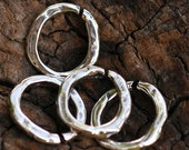 SIX Artisan Open Small Links in Sterling Silver L-248A/6