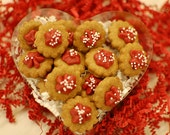 Valentine's Day Dog Treats - Peanut Butter Itty Bitties