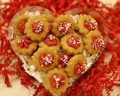 Valentine's Day Dog Treats - Peanut Butter Itty Bitties