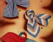 Vintage Ladies Scarves in 3 Styles, Knitting Pattern, 1960 (PDF) Pattern, Sirdar 1535