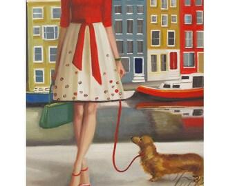 The Duchess- Modern Art Print From Original Oil Painting