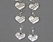 Add a Charm, Wedding Party Charms, Add On Charm, Bridal Charms, Bridal Party Charms