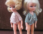 Set of Two Tiny Time Teen Dolls