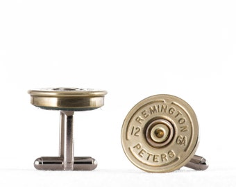Cufflinks - Remington 12 Shotgun Shells