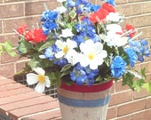 Patriotic Arrangement,Primitive,Americana Arrangement,July Forth Arrangement