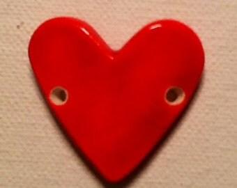 Red Heart Bracelet Topper