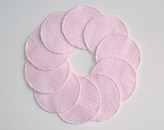 Pink Stripe Reusable Make-up Remover Pads