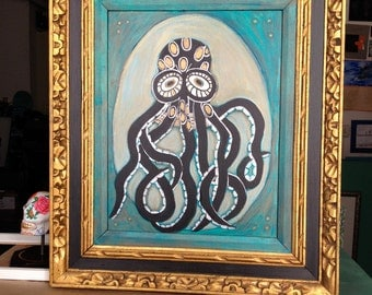 Octopus Painting MOVING SALE!