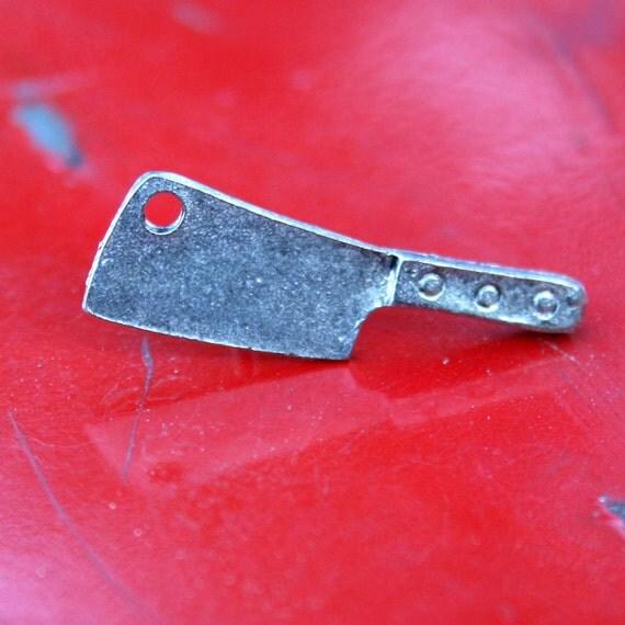 Tie Tack - Lapel Pin - Cleaver