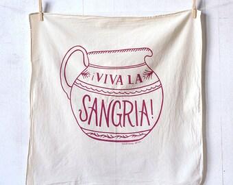 Sangria kitchen towel