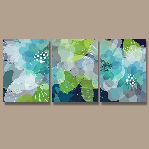 Watercolor Wall Art watercolor wall art canvas or print pottery flower artwork