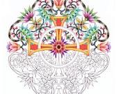 Christian Symbols Coloring BOOK