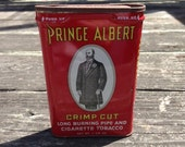 Vintage Prince Albert Crimp Cut Tobacco Tin