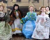 Little Women Doll Miniature Dream Set Louisa May Alcott Classic Literature