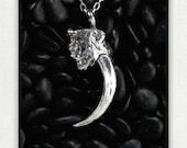 King of the Urban Sky- American Bald Eagle Claw-An Exact Replica in Solid Sterling Silver