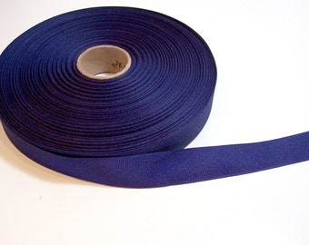 Blue Ribbon, Dark Royal Blue Grosgrain Ribbon 1 inch wide x 10 yards