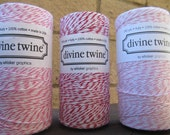 ON SALE Red and Pinks Divine Twine Full Spool Your Choice of Color . Crafting. Gift Wrap.