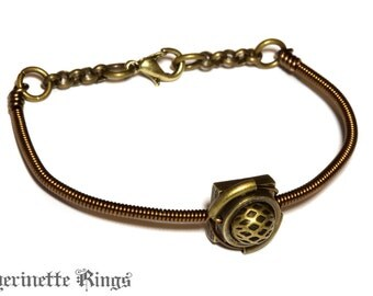 Steampunk Victorian - Bracelet - Bronze