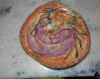 Fantasy travel plate