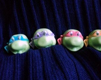 Mini Turtle Face Soaps Kids soaps, Party Favors, Turtle Fans, Stocking Stuffers