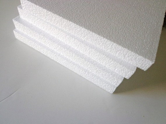 White Styrofoam Sheets