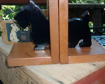 vintage scotty bookends