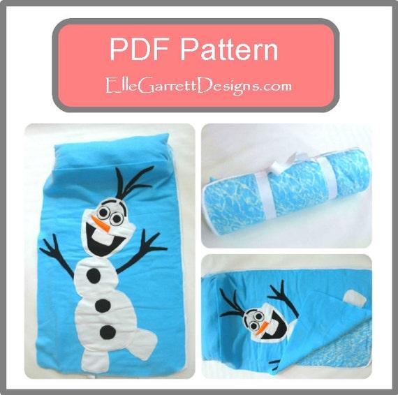 Pdf Pattern Snowman Nap Mat Pattern