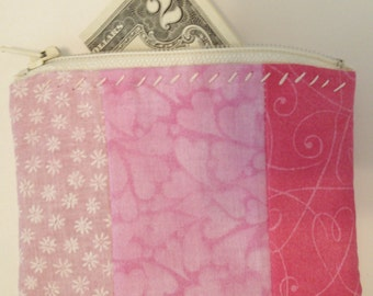 Coin Pouch in Pink