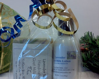 Soap & Lotion Gift Bag