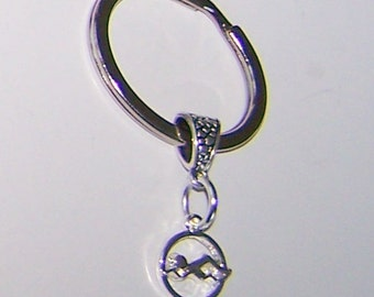 SWIM Key Ring, Keyring, Keychain, Key Chain - Sports, Teams, Watersports