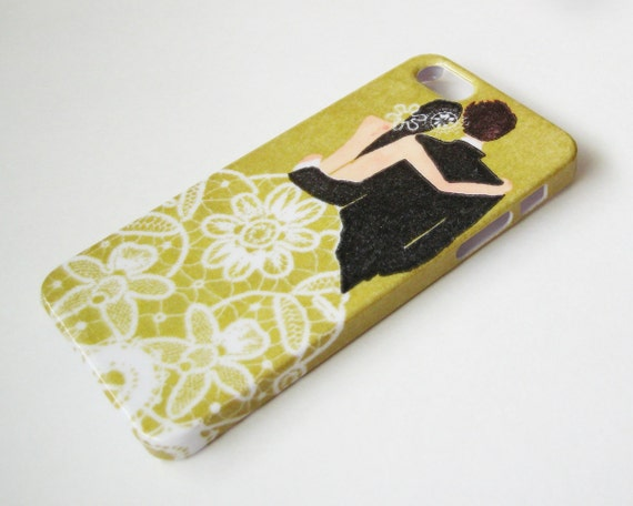 Bride and Groom iPhone 5/5S Case - Hard Shell Phone Cover