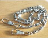 Nickel Color Metal Purse Chain 120 cm. Bag / Purse / Clutch Supply