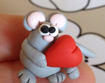 Mouse Polymer Clay Creation by bdbworld on Etsy No 5