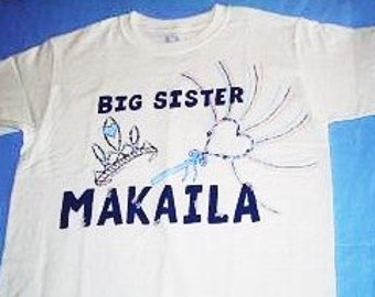 Princess Big Sister Shirt, Big Sister Middle Sister shirts, Sibling Shirts, Princess Sister, Older Sister Shirt