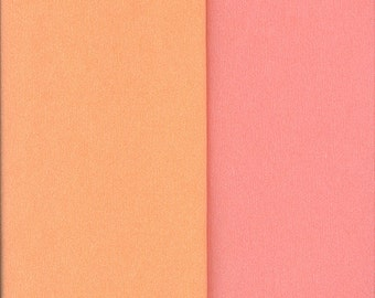 Gloria Doublette Double Sided Crepe Paper For Flower Making Made In Germany Peach And Light Pink  #3409